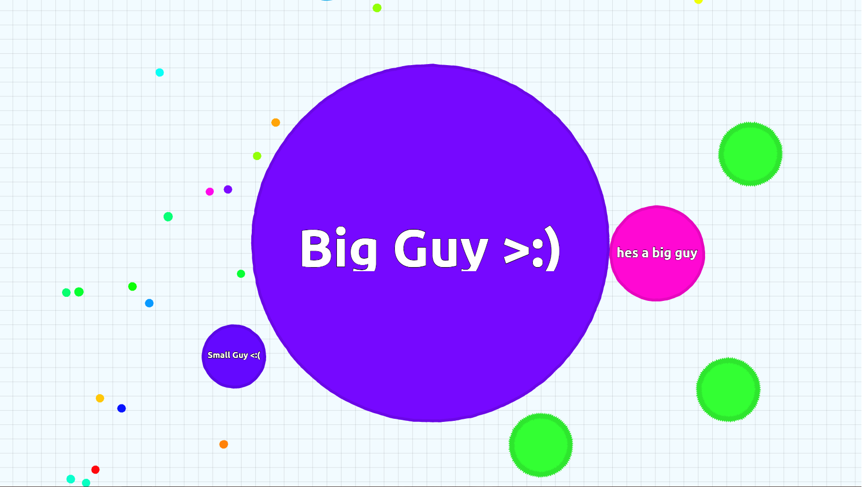 how to play agar.io with friendis