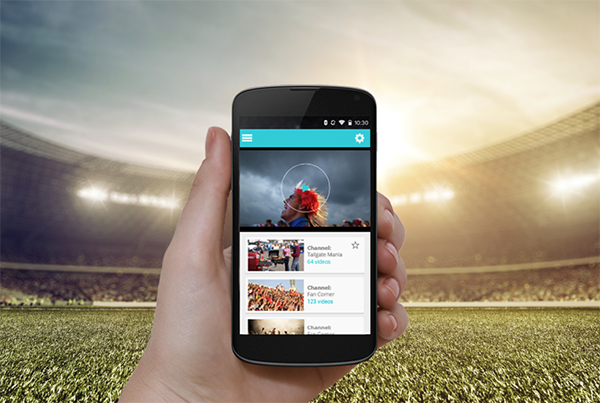 Flagship video app: Top US Sports League